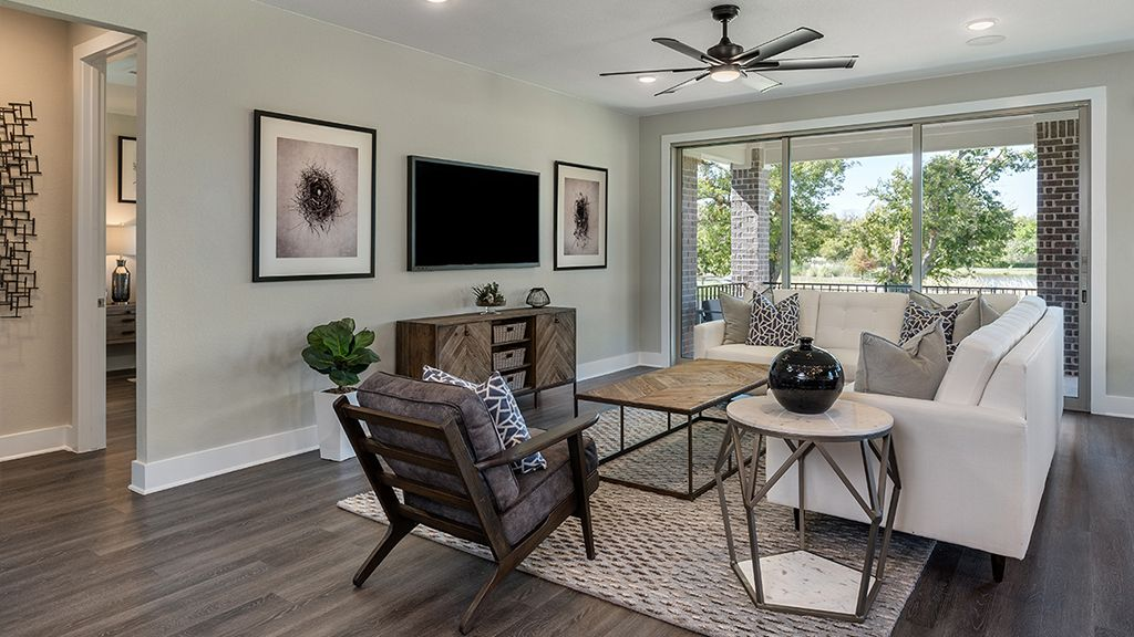 Living Area featured in the Dovetail By Taylor Morrison in Austin, TX