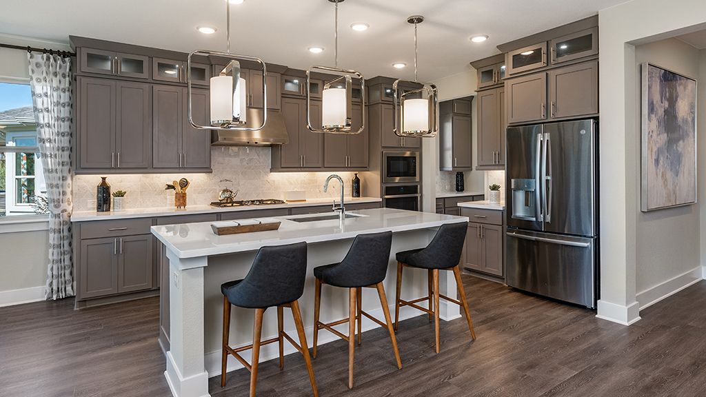 Kitchen featured in the Dovetail By Taylor Morrison in Austin, TX
