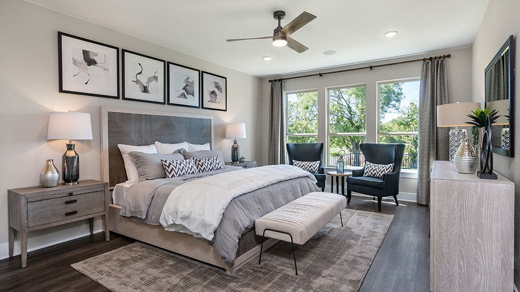 Bedroom featured in the Dovetail By Taylor Morrison in Austin, TX