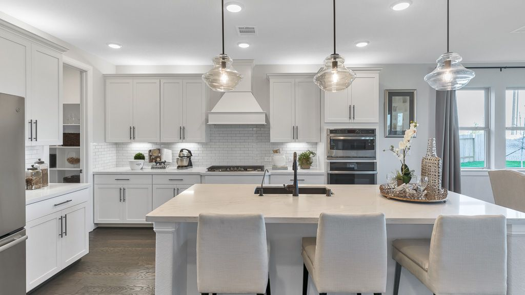 Kitchen featured in the Carnelian By Taylor Morrison in Houston, TX
