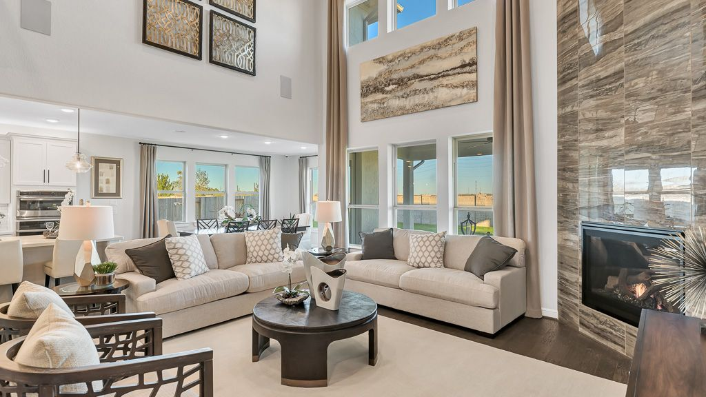 Living Area featured in the Carnelian By Taylor Morrison in Houston, TX