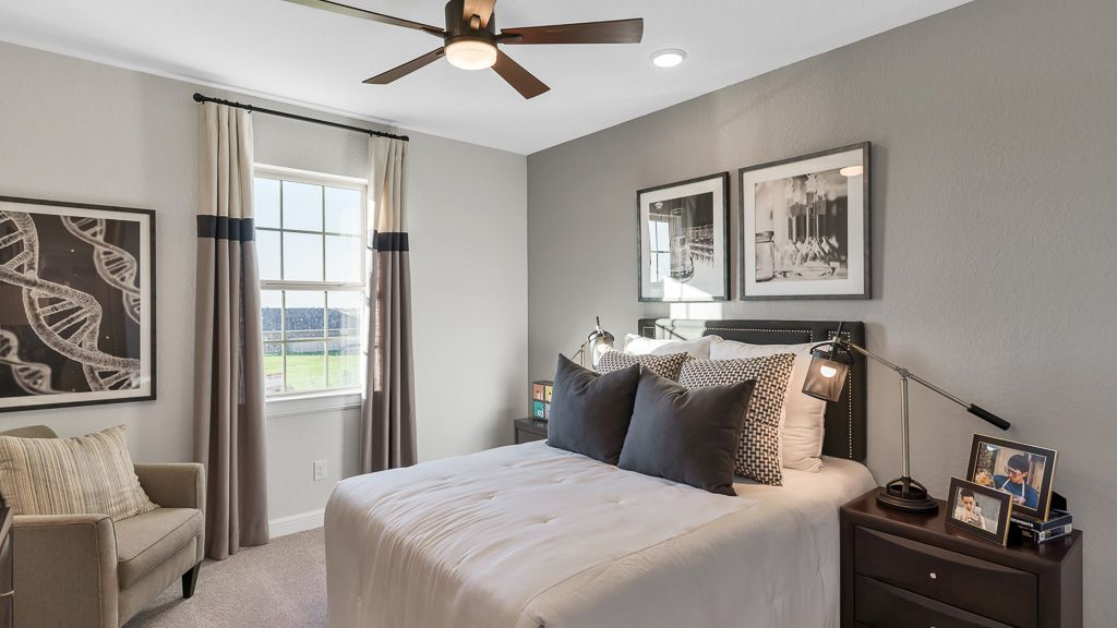 Bedroom featured in the Carnelian By Taylor Morrison in Houston, TX