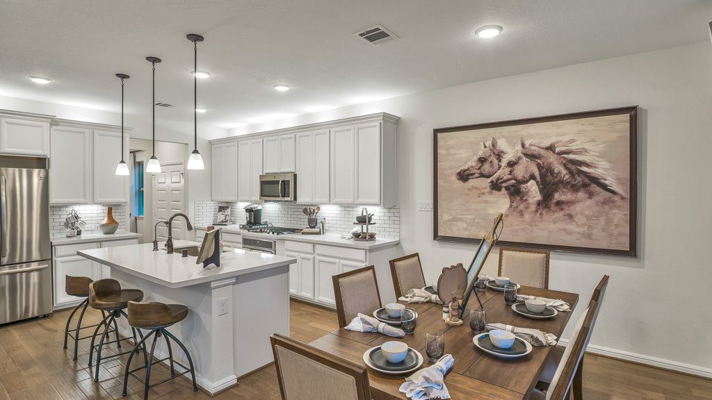 Kitchen featured in the Indigo By Taylor Morrison in Houston, TX