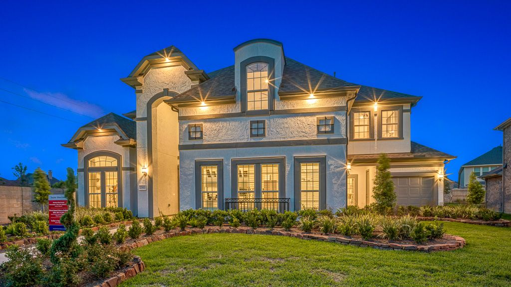 Exterior featured in the Salerno By Taylor Morrison in Houston, TX