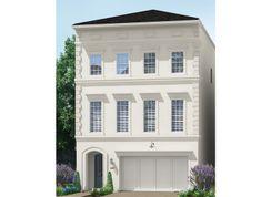 1361 - 3 Story - Somerset Green: Houston, Texas - Darling  Homes