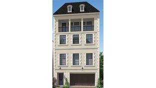 1364 - 4 Story - Somerset Green: Houston, Texas - Darling  Homes