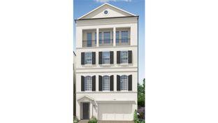 1363 - 4 Story - Somerset Green: Houston, Texas - Darling  Homes