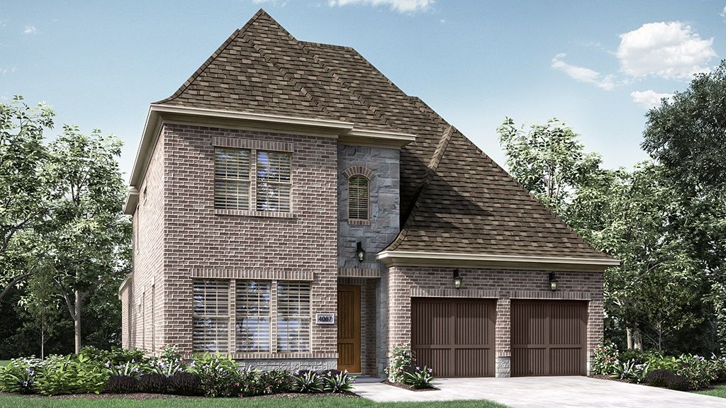 Exterior featured in the 4067 By Darling  Homes in Houston, TX