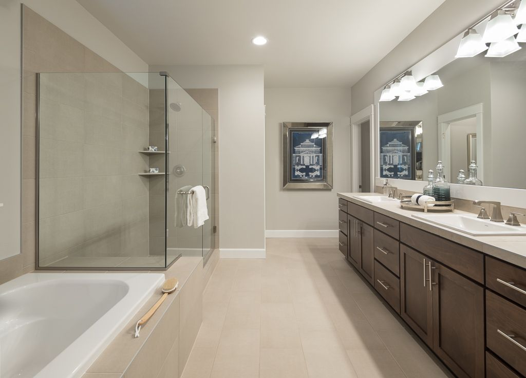 Bathroom featured in The Walnut By Taylor Morrison in Olympia, WA