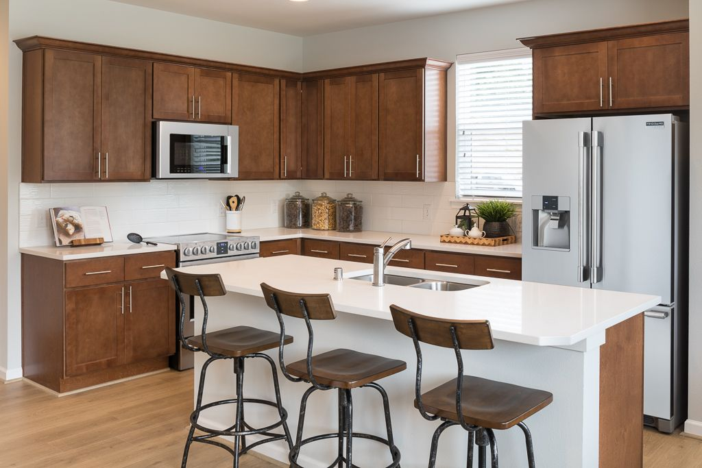 Kitchen featured in The Bristol  B WLH By Taylor Morrison in Seattle-Bellevue, WA