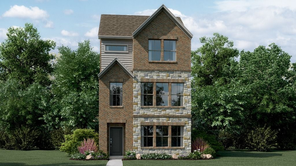 Exterior featured in the Macadamia Plan By Taylor Morrison in Fort Worth, TX