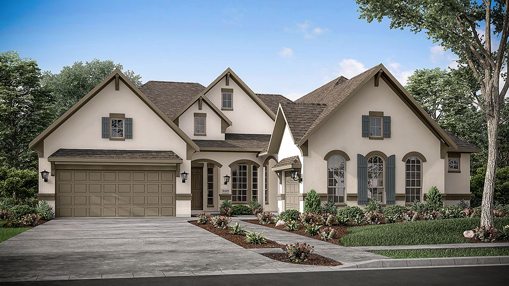 Exterior featured in the Bonita By Taylor Morrison in Austin, TX