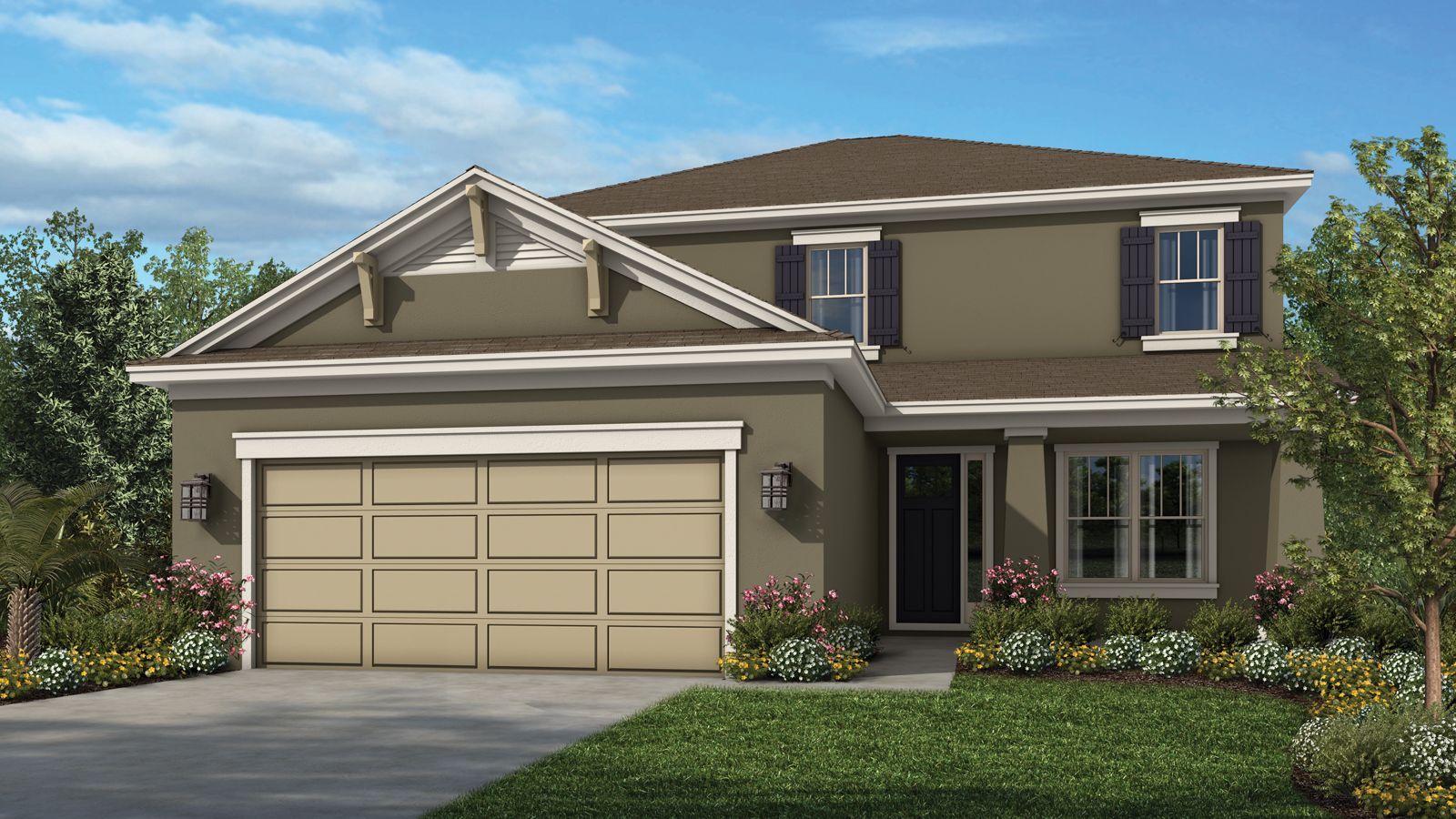 Exterior featured in the Bonaire By Taylor Morrison in Orlando, FL
