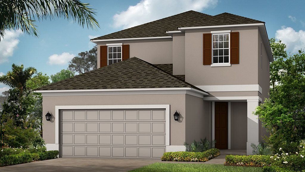 Exterior featured in the Santa Rosa By Taylor Morrison in Orlando, FL