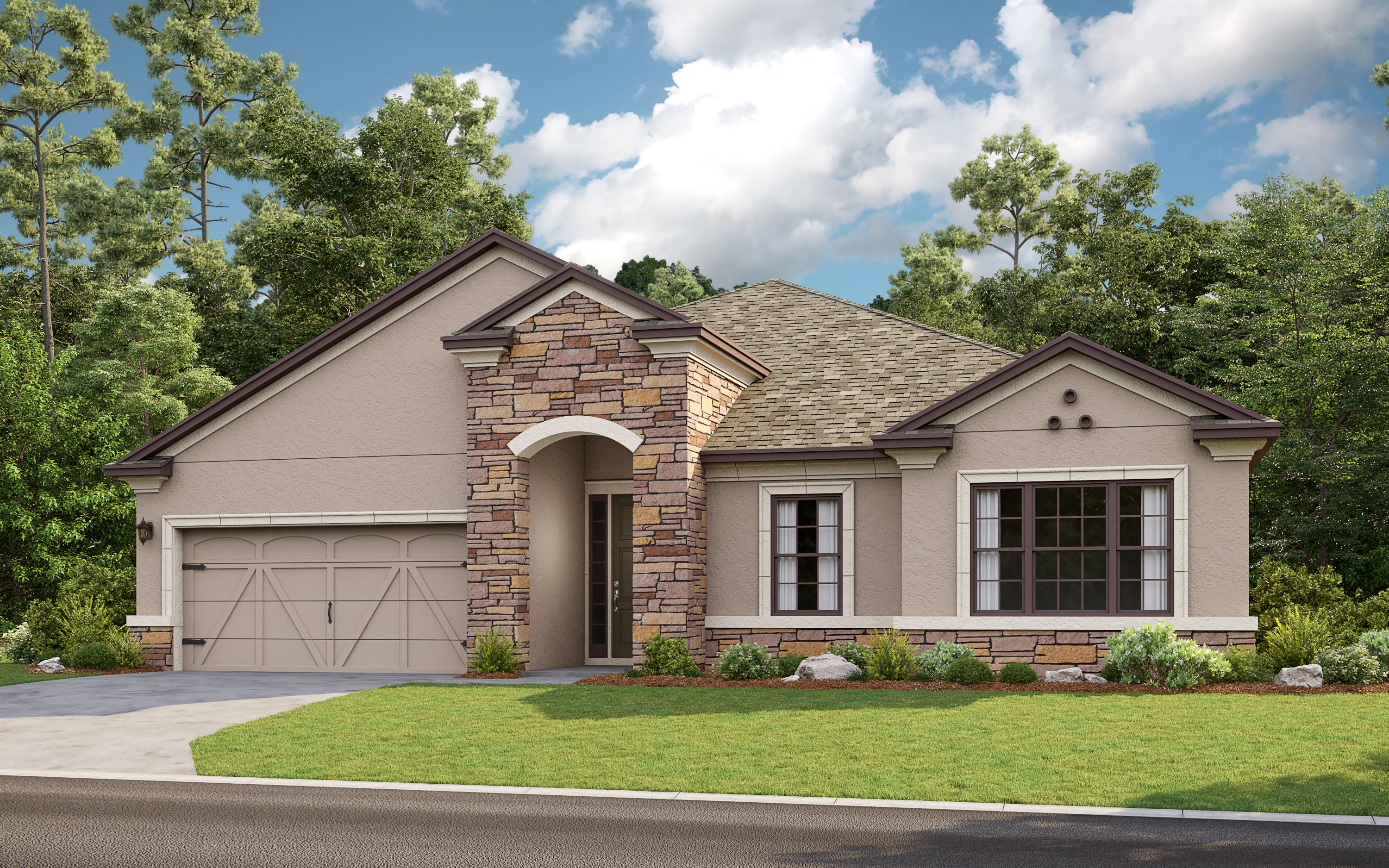 Exterior featured in the Amelia By Taylor Morrison in Sarasota-Bradenton, FL
