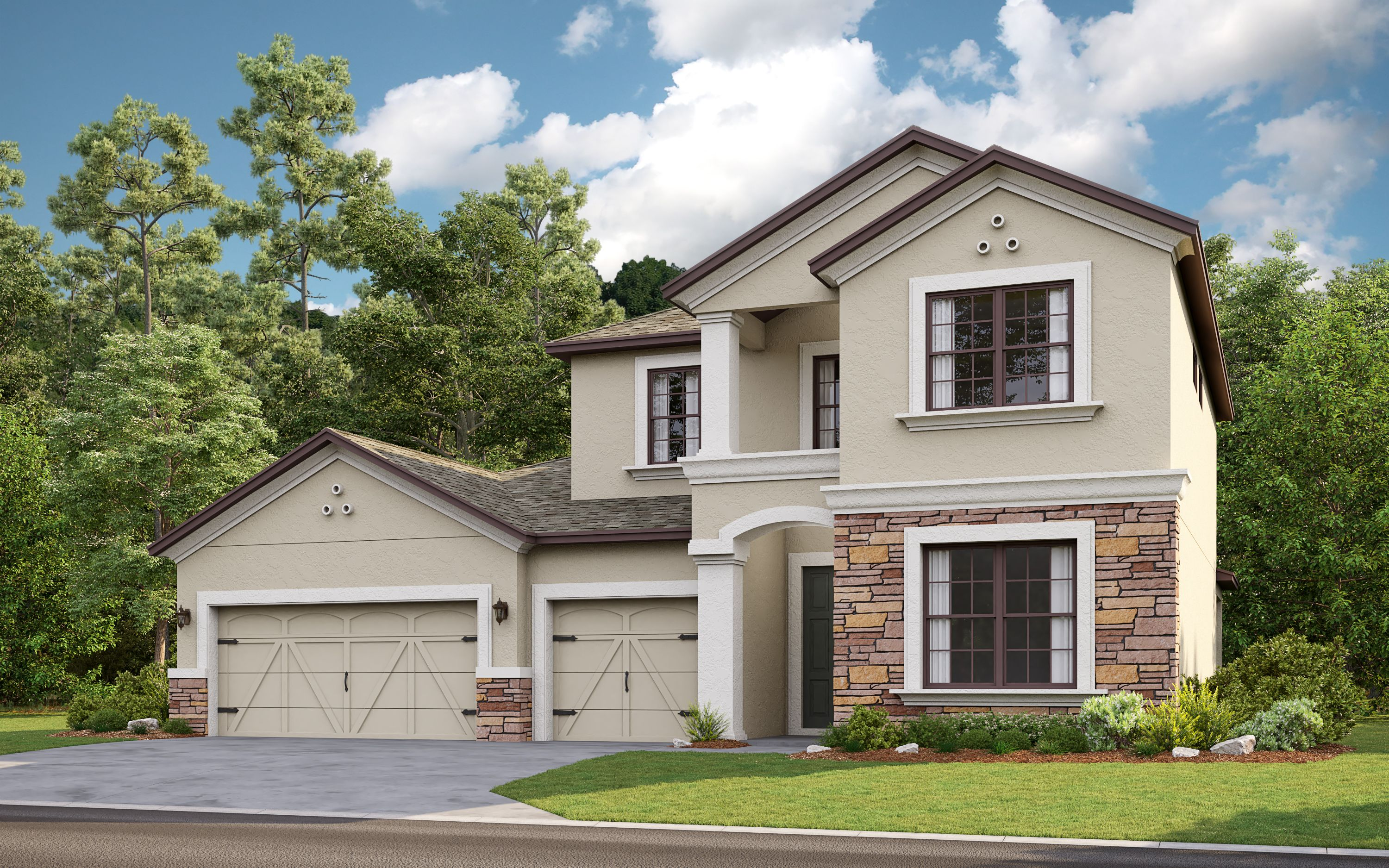 Exterior featured in the Caladesi By Taylor Morrison in Sarasota-Bradenton, FL