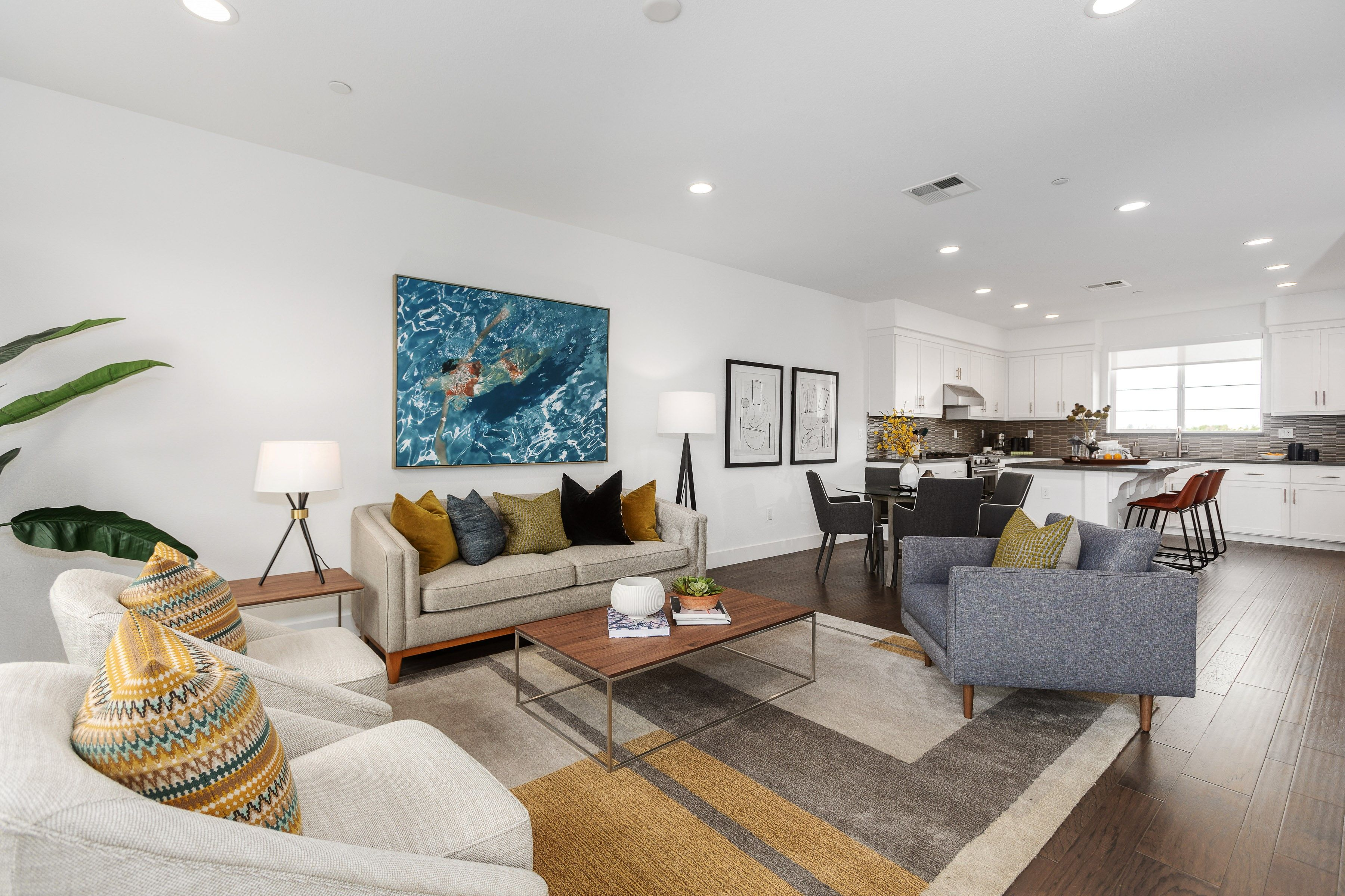 Living Area featured in the Plan 2 WLH By Taylor Morrison in Oakland-Alameda, CA