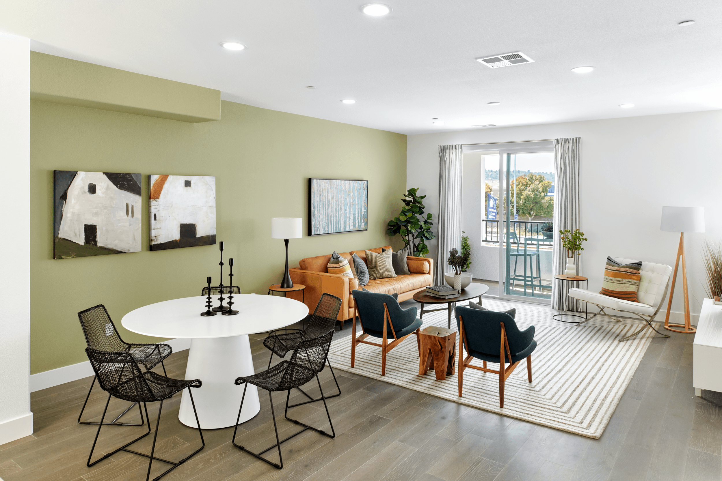 Living Area featured in the Residence 3 WLH By Taylor Morrison in Oakland-Alameda, CA