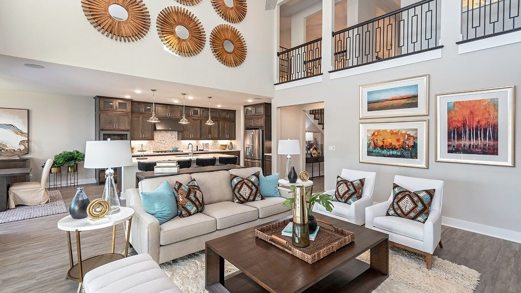 Living Area featured in the Larimar By Taylor Morrison in Houston, TX