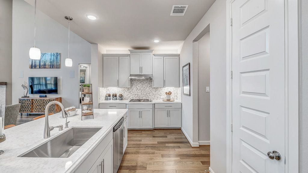 Kitchen featured in the Sapphire By Taylor Morrison in Houston, TX