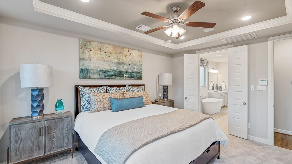 Bedroom featured in the Sapphire By Taylor Morrison in Houston, TX