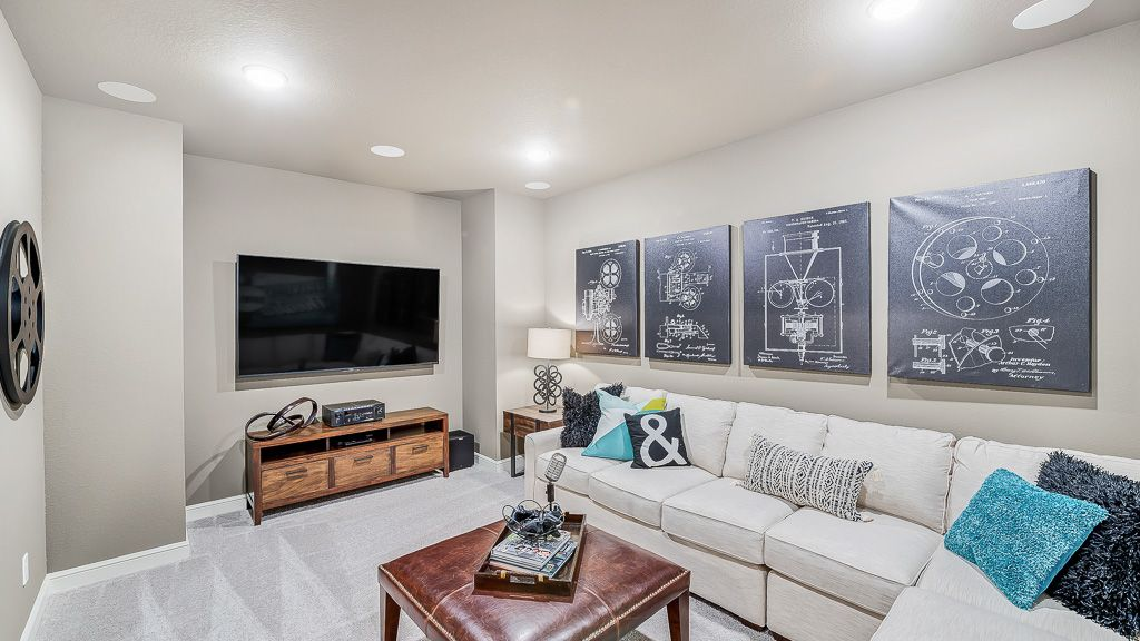 Living Area featured in the Sapphire By Taylor Morrison in Houston, TX