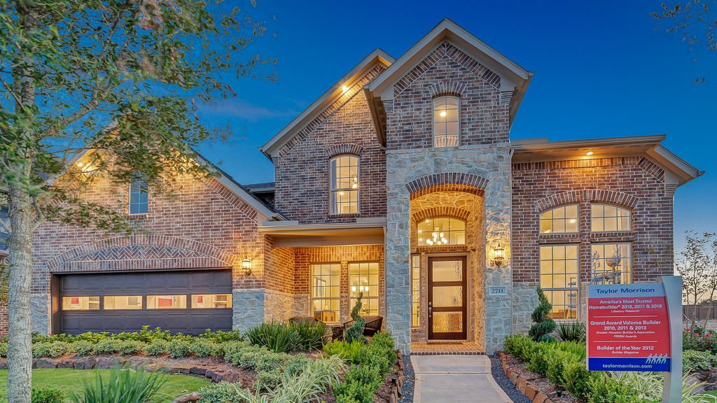 Exterior featured in the Sapphire By Taylor Morrison in Houston, TX