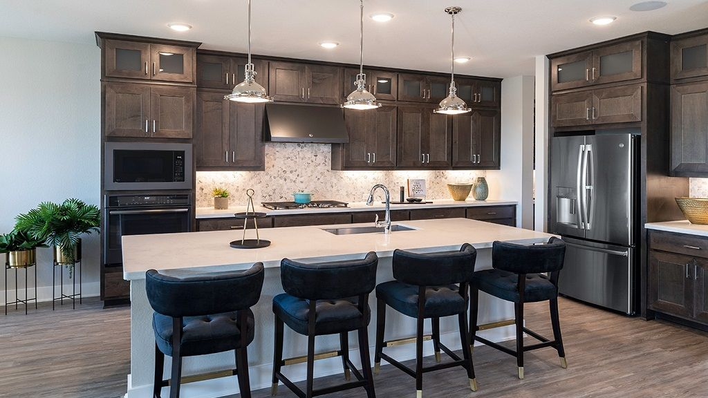 Kitchen featured in the Larimar By Taylor Morrison in Houston, TX