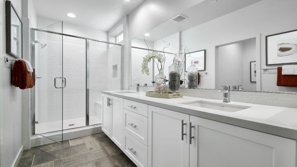 Bathroom featured in the Residence 1  WLH By Taylor Morrison in Orange County, CA