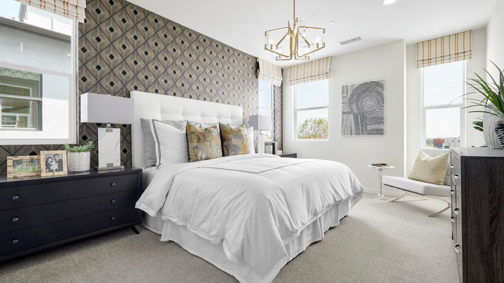 Bedroom featured in the Residence 2 WLH By Taylor Morrison in Orange County, CA
