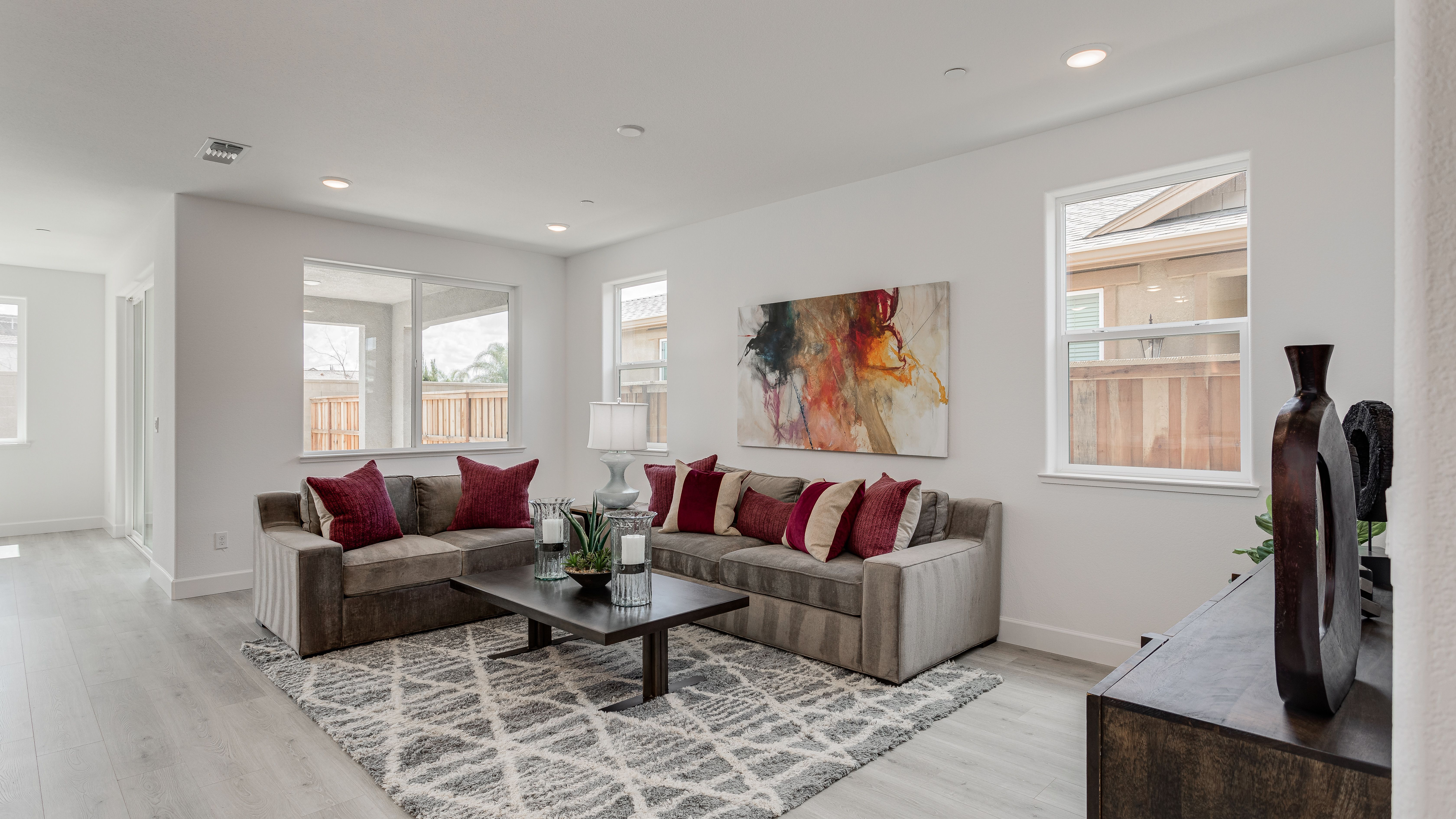 Living Area featured in the Residence 3 By Taylor Morrison in Stockton-Lodi, CA