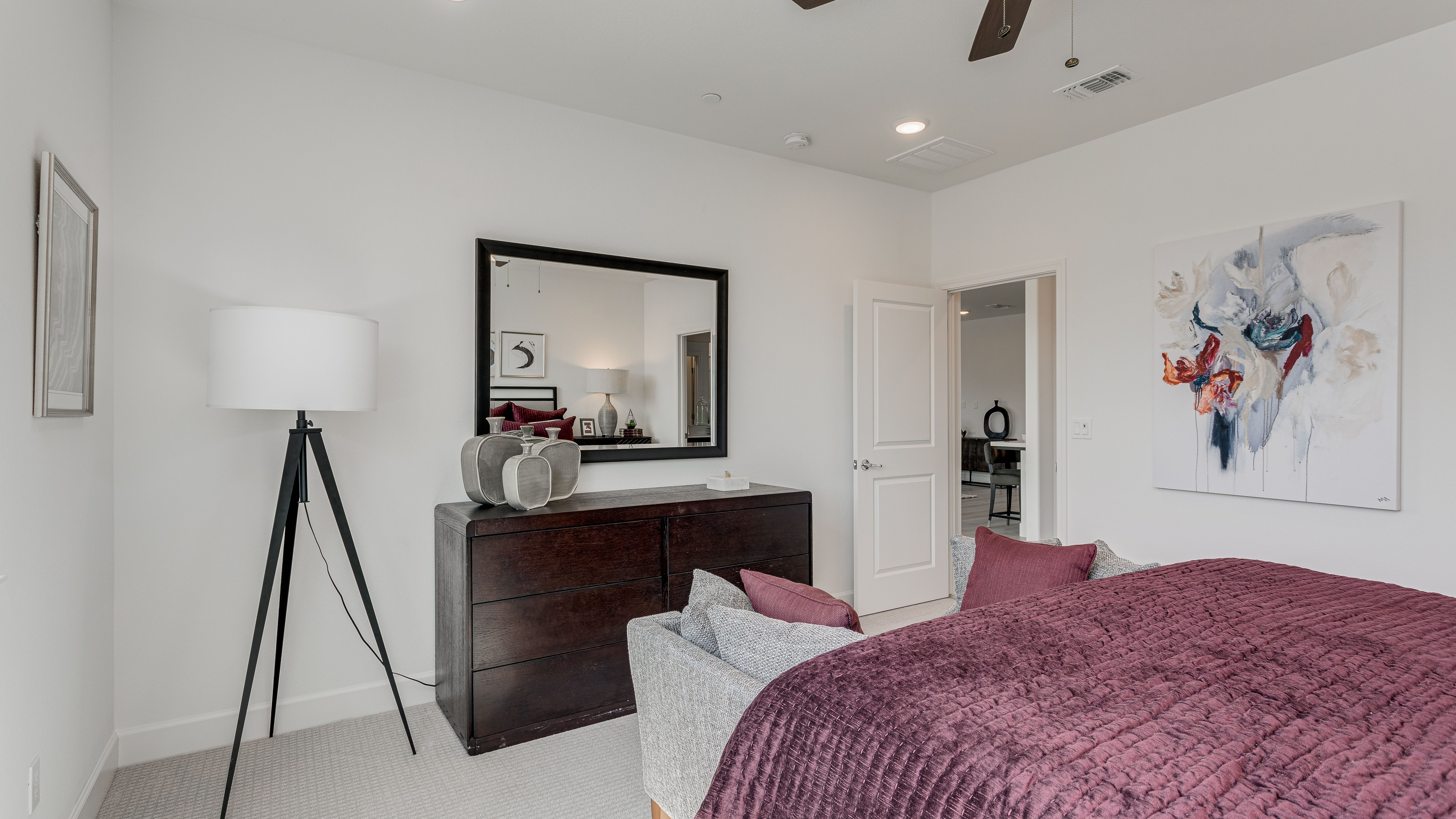 Bedroom featured in the Residence 3 By Taylor Morrison in Stockton-Lodi, CA