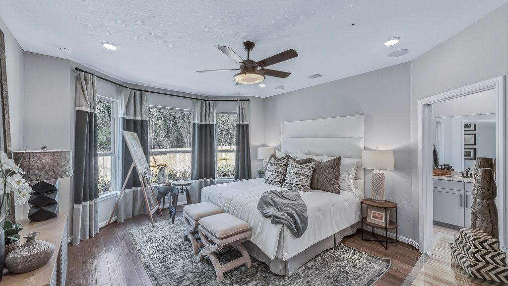 Bedroom featured in the Alpine By Taylor Morrison in Houston, TX
