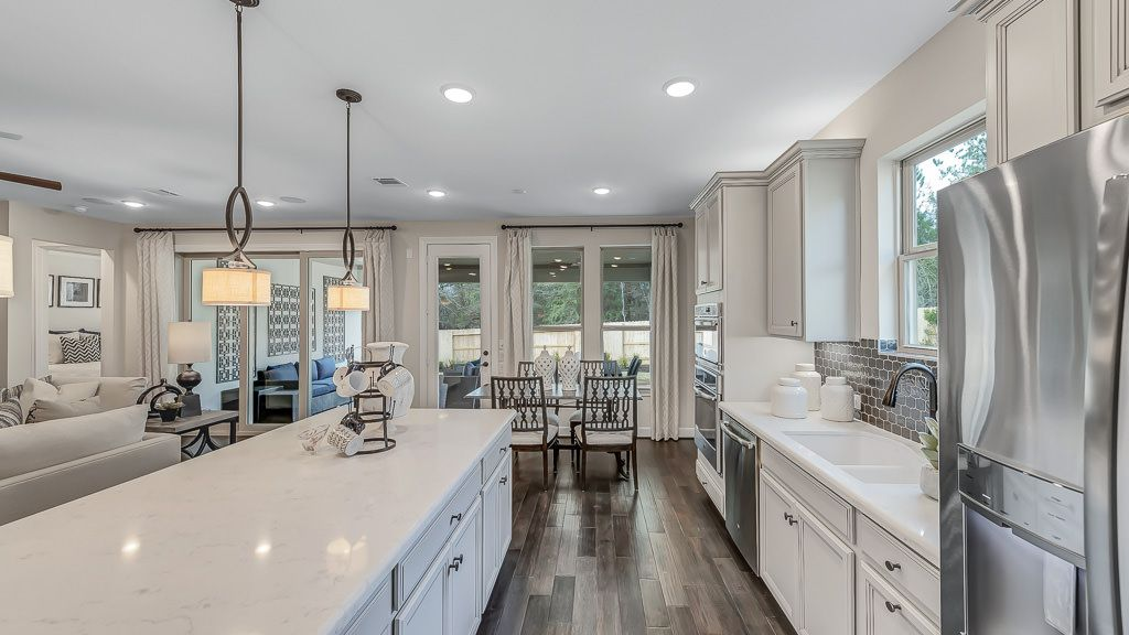 Kitchen featured in the Driftwood By Taylor Morrison in Houston, TX