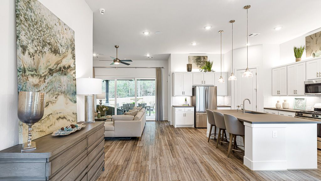 Kitchen featured in the 1501 By Darling  Homes in Houston, TX