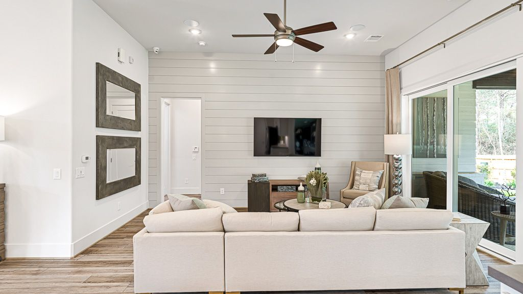Living Area featured in the 1501 By Darling  Homes in Houston, TX