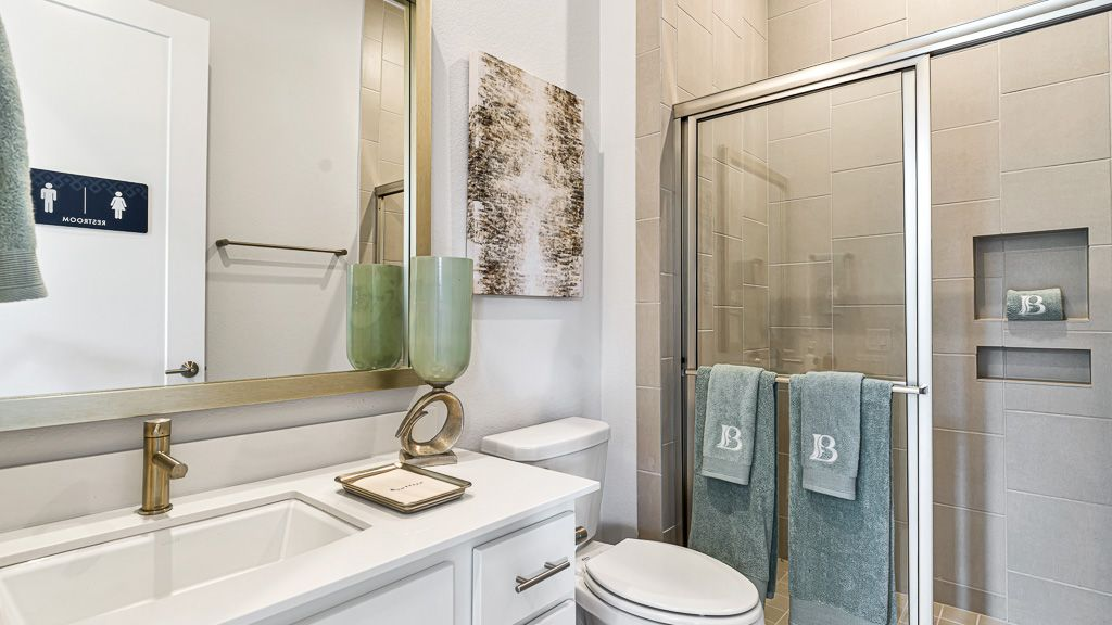 Bathroom featured in the 1501 By Darling  Homes in Houston, TX