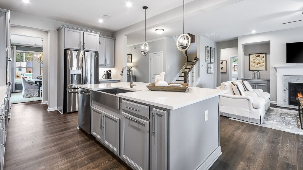 Kitchen featured in the Waverly By Taylor Morrison in Atlanta, GA