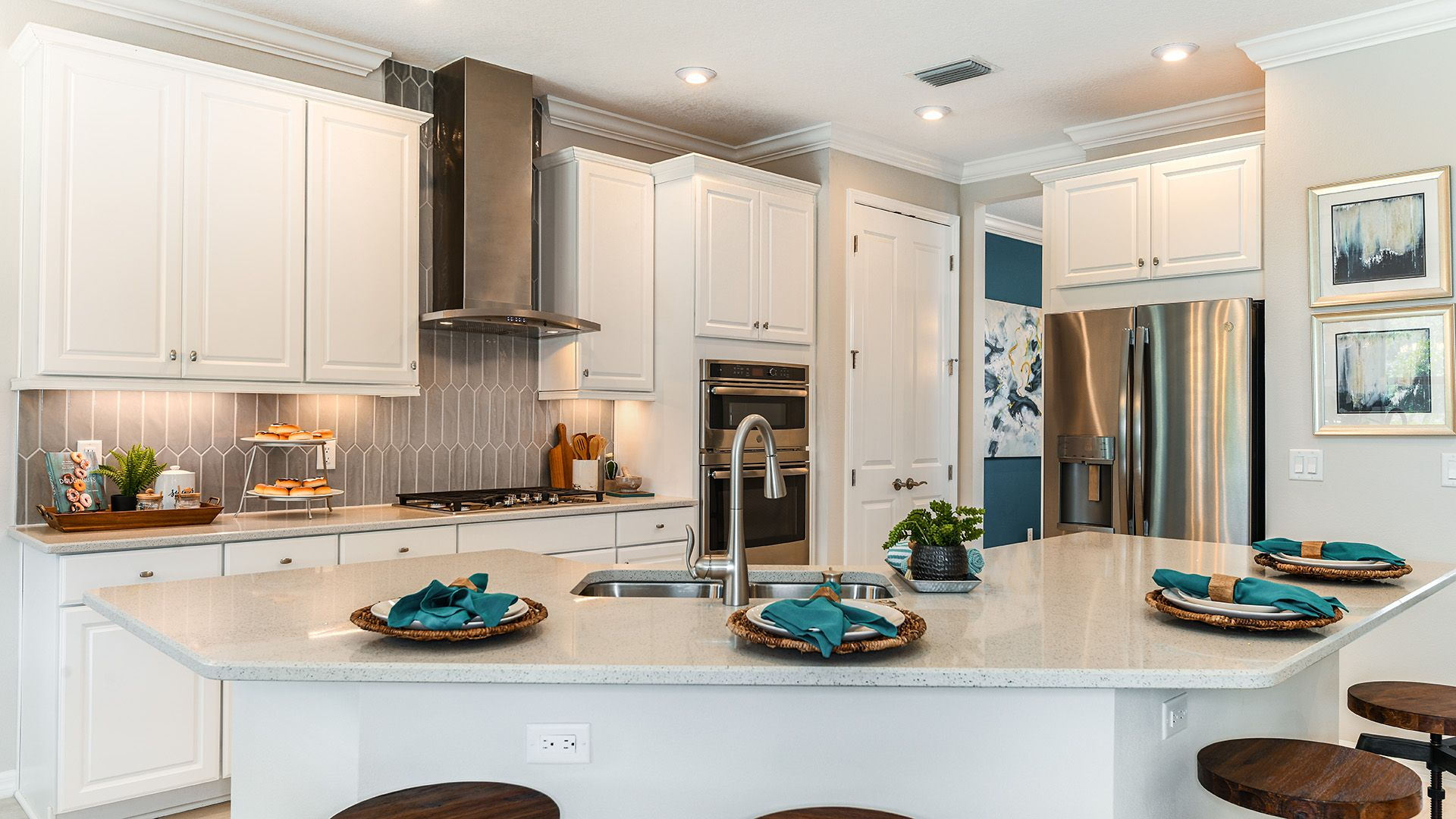 Kitchen featured in the Bonaire By Taylor Morrison in Sarasota-Bradenton, FL