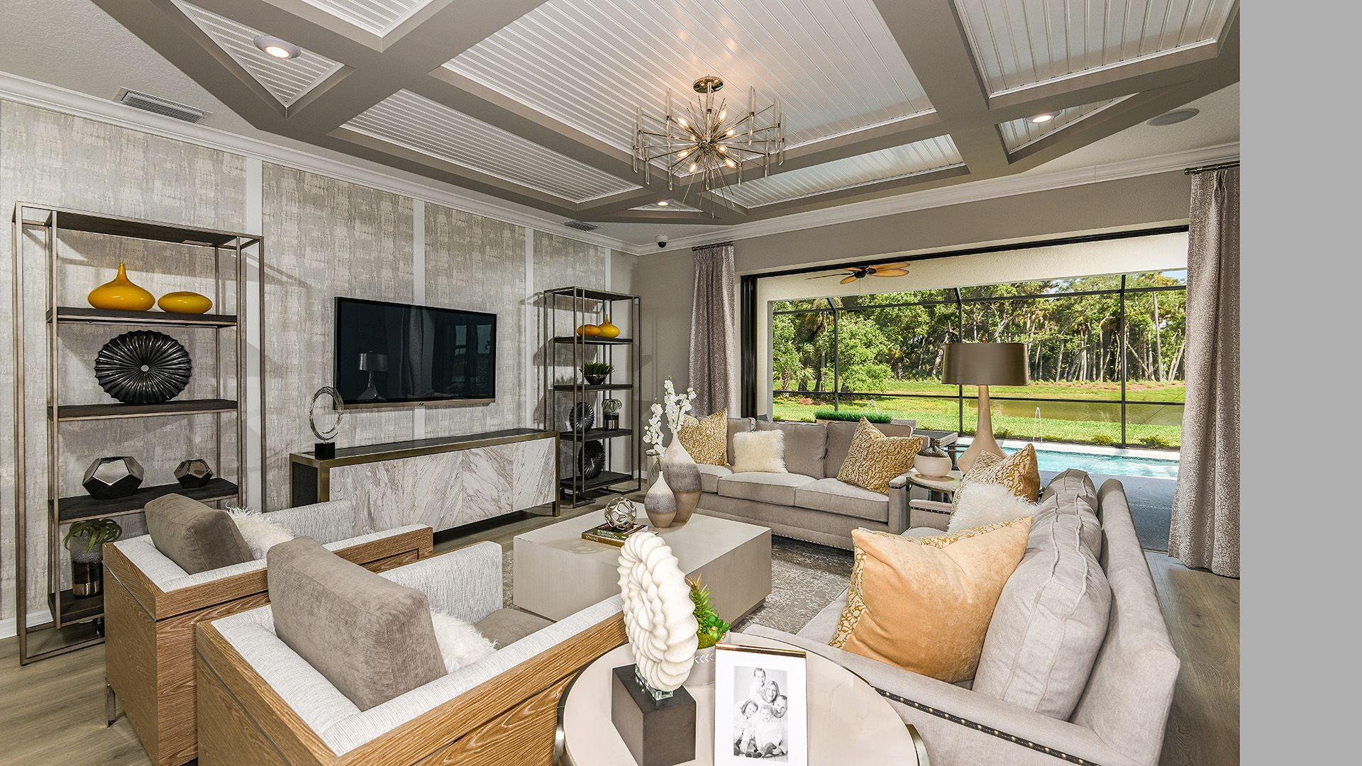Living Area featured in the Sand Key By Taylor Morrison in Sarasota-Bradenton, FL