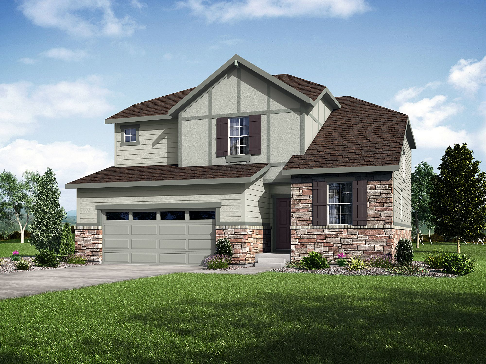 Exterior featured in the 40C4 WLH By Taylor Morrison in Denver, CO