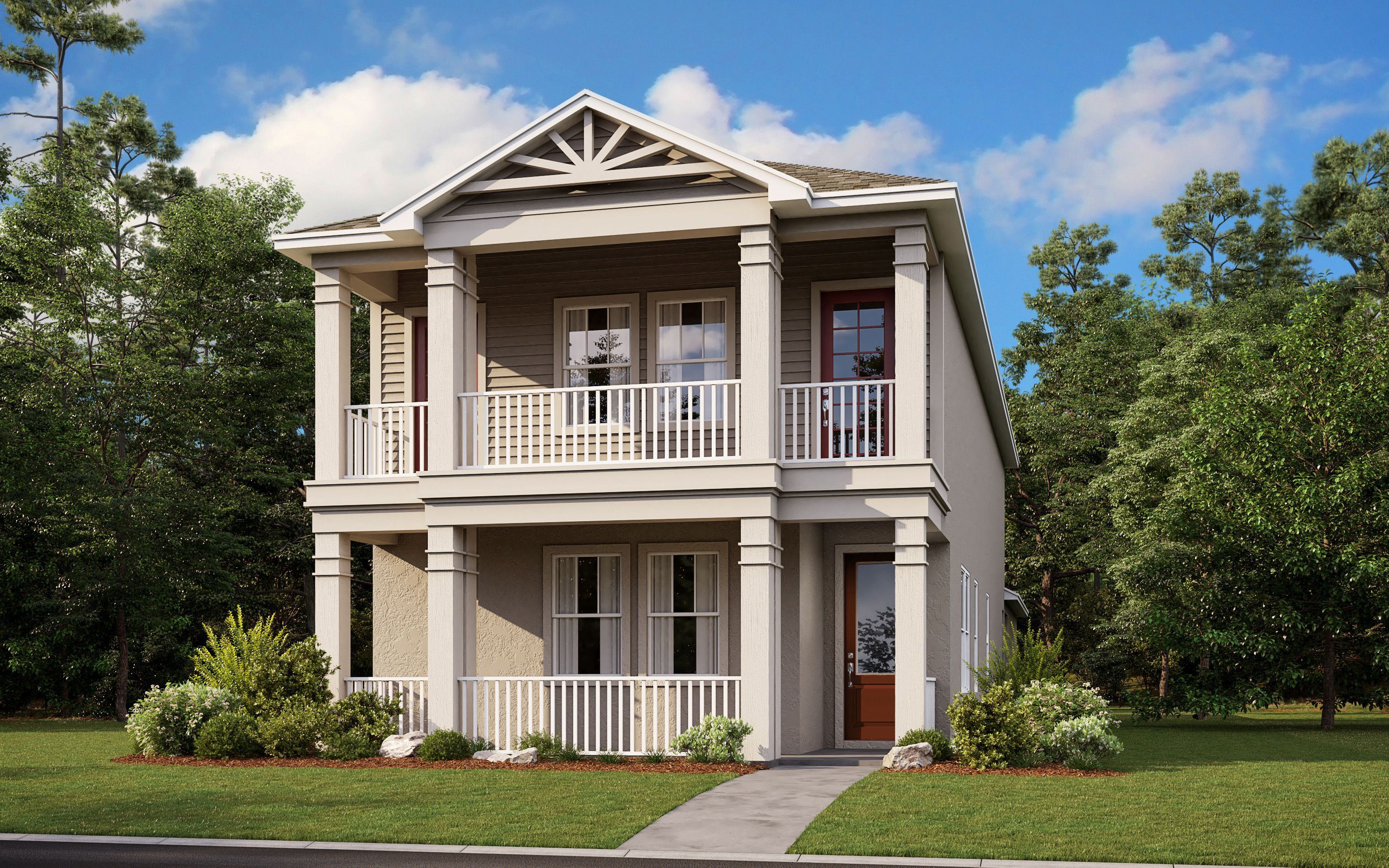 Exterior featured in the Baldwin HW By Taylor Morrison in Orlando, FL