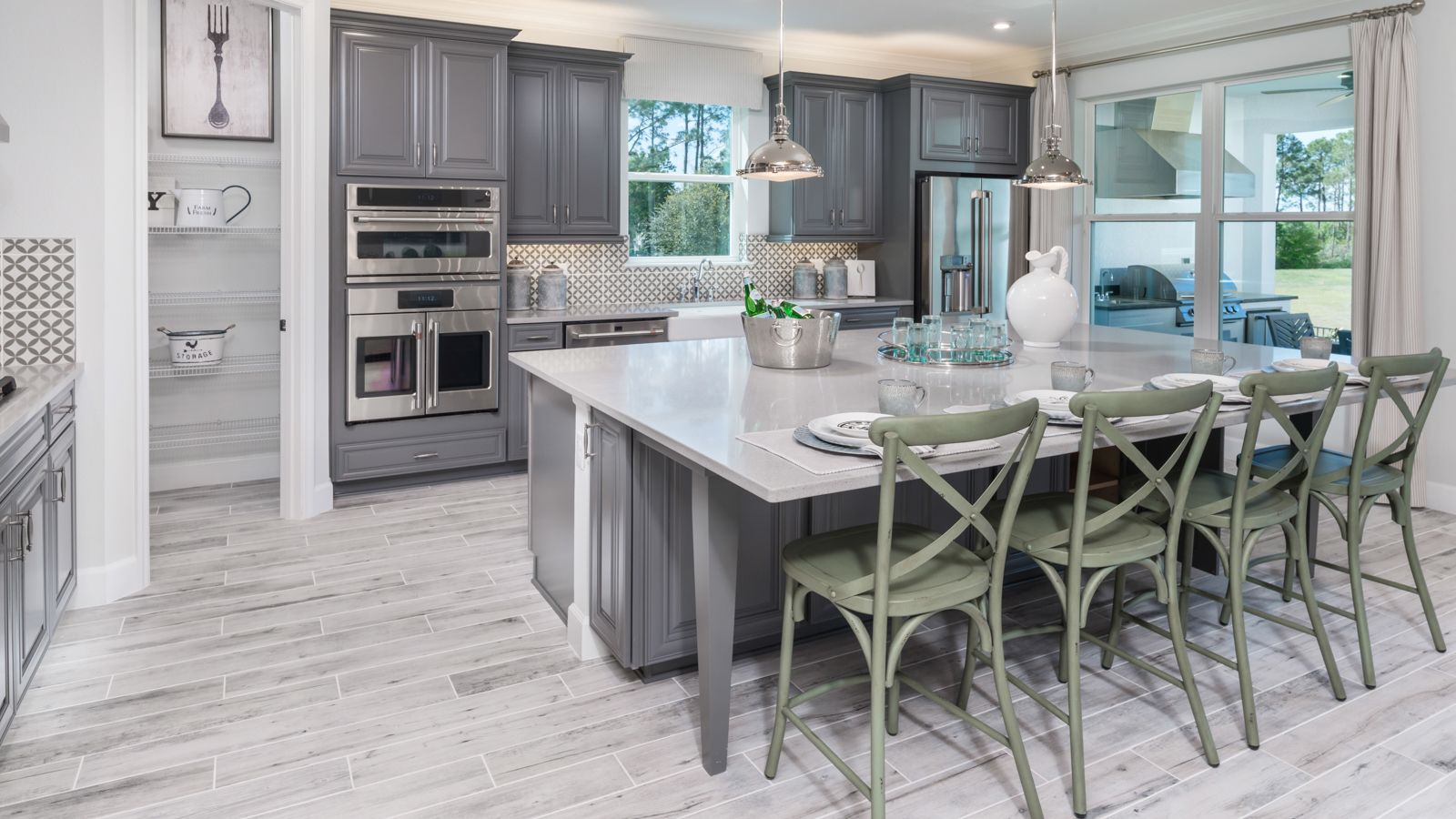 Kitchen featured in the Amelia By Taylor Morrison in Orlando, FL