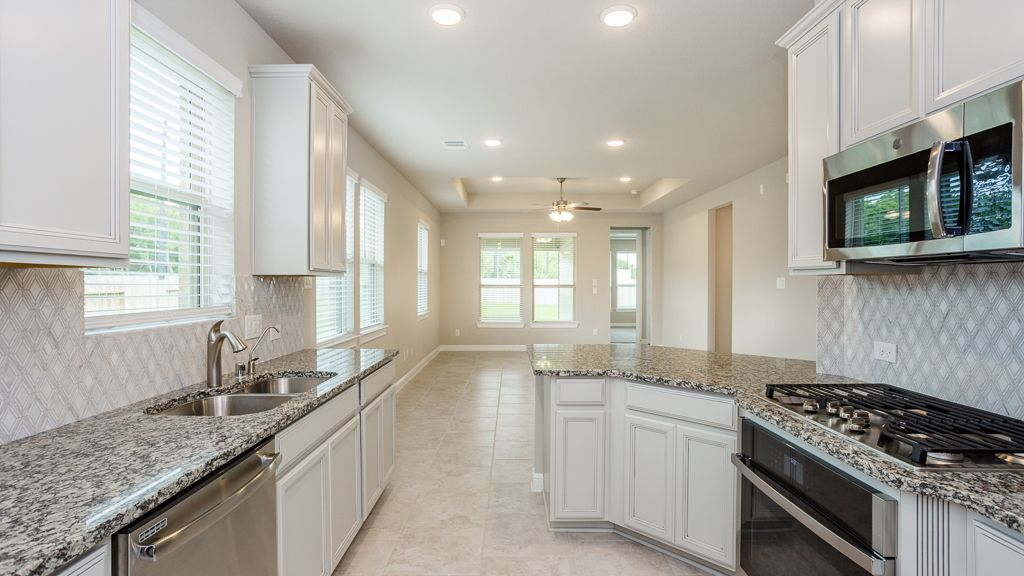 Kitchen featured in the Dahlia By Taylor Morrison in Houston, TX