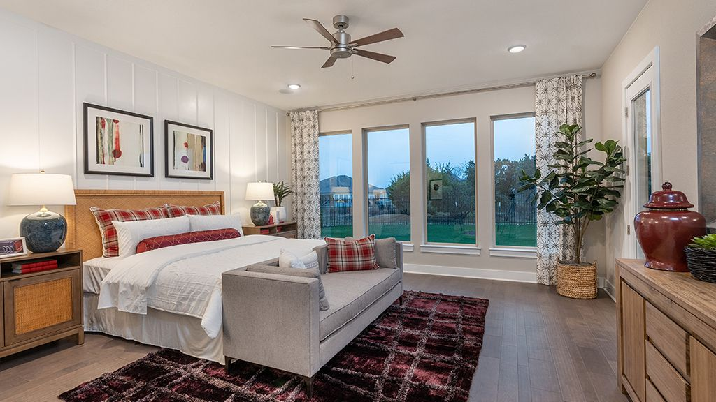 Bedroom featured in the Bonita By Taylor Morrison in Austin, TX