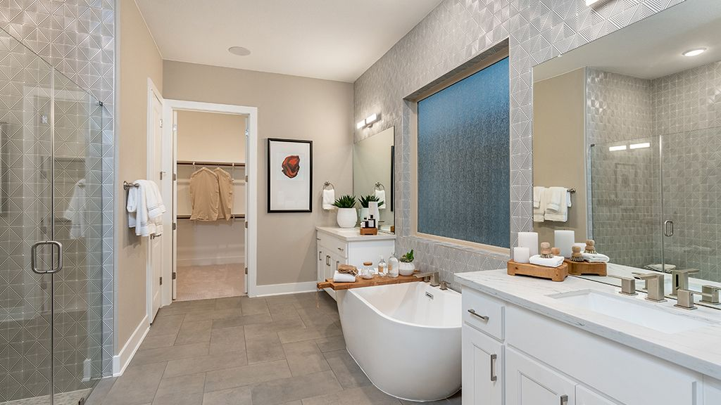 Bathroom featured in the Bonita By Taylor Morrison in Austin, TX