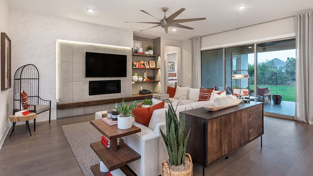 Living Area featured in the Bonita By Taylor Morrison in Austin, TX