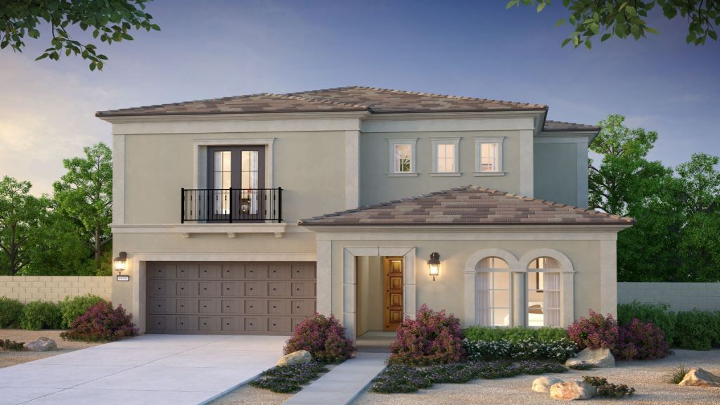 Exterior featured in the Plan 1 By Taylor Morrison in Orange County, CA