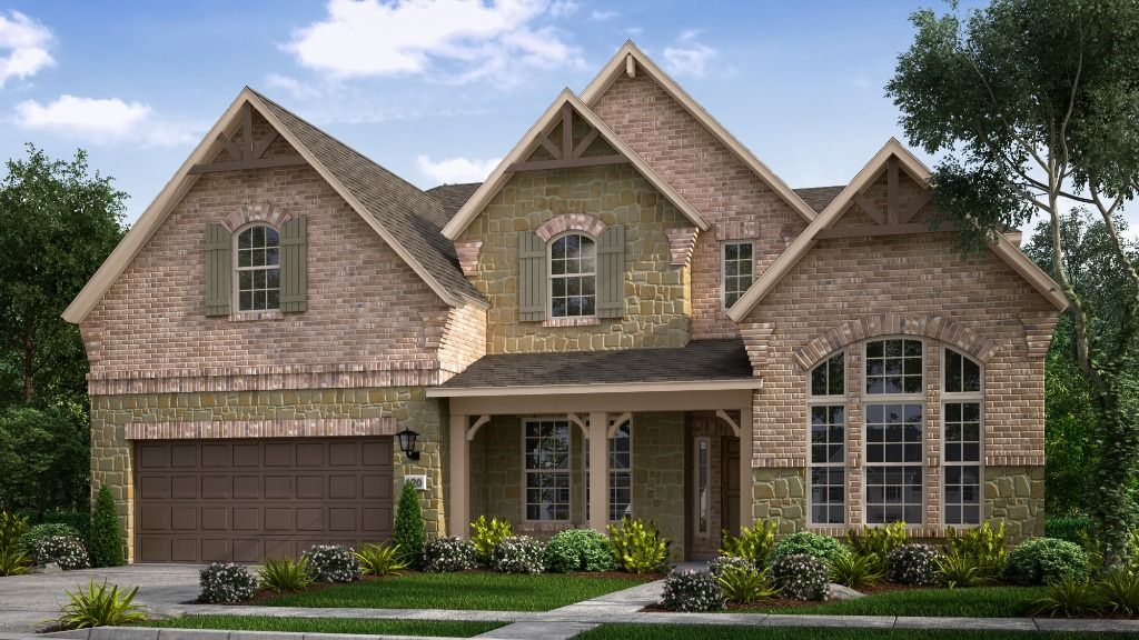 Exterior featured in the Peridot By Taylor Morrison in Sherman-Denison, TX