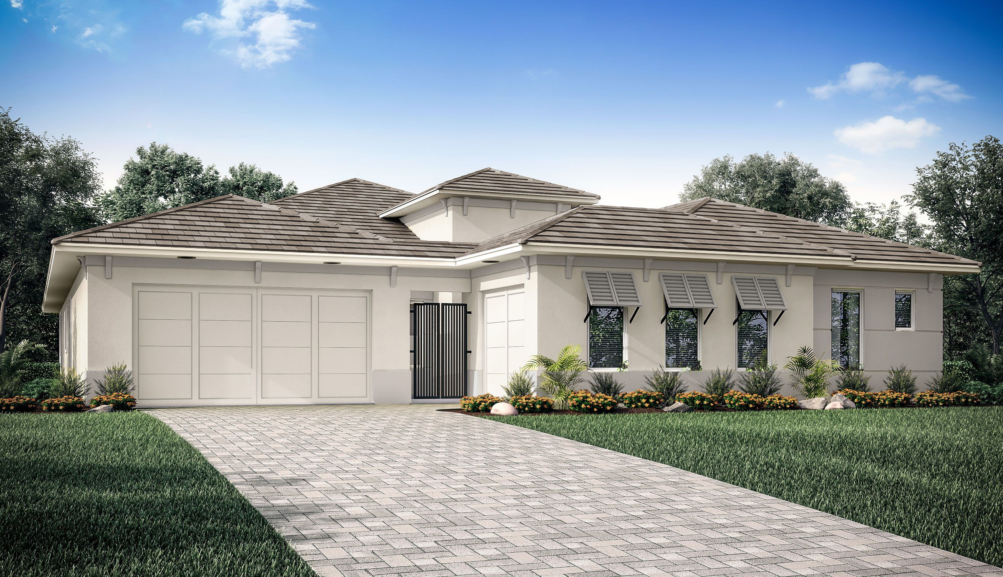 Exterior featured in the Humboldt By Taylor Morrison in Naples, FL